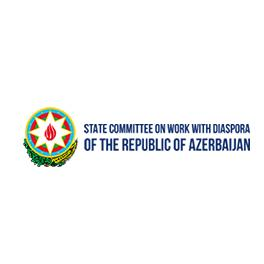 State Committe On Work With Diaspora Of The Republic Of Azerbaijan Plate